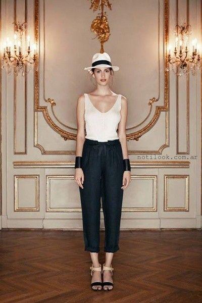 pantalones para señoras Cacharel primavera verano 2016  d723c82f9ef1