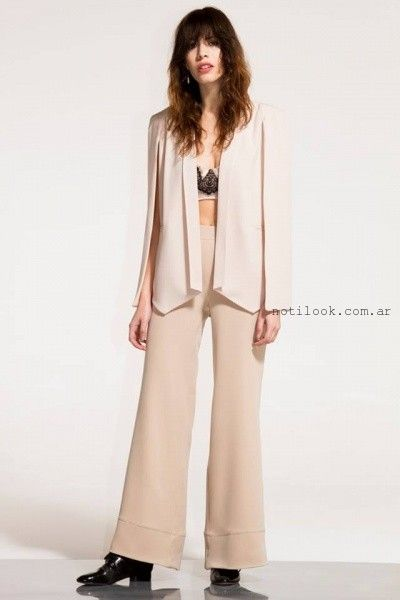 saco y pantalon formal verano 2016 - Paris by Flor Monis