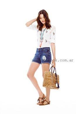 shores de jeans Yagmour primavera verano 2016