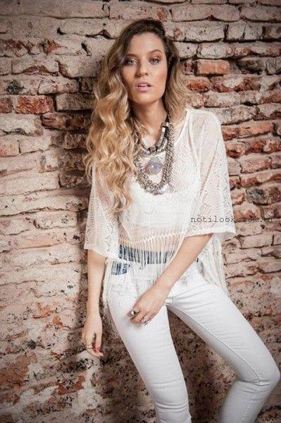 tops con flecos verano 2016 Desvio Jeans