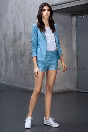 trajes para mujer con short verano 2016 markova