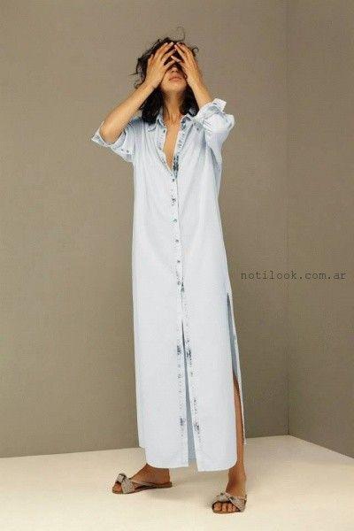 vestido de jeans  - Maria Cher verano 2016