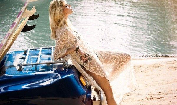 vestidos con transparencias para la playa verano 2016 bendito pie