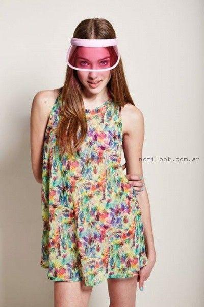 vestidos informales juveniles Como Quieres Que Te Quiera primavera verano 2016