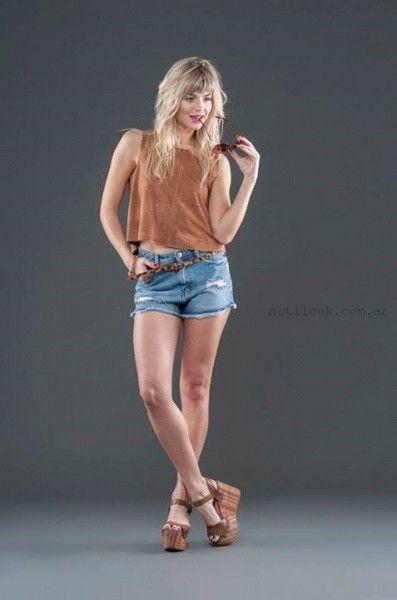 alma jeans shores verano 2016