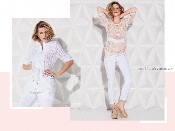 blusas y camisas blancas verano 2016 Rafael Garofalo