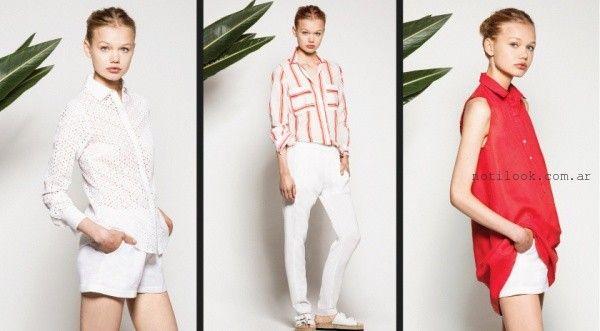 camisas para mujer verano 2016 AKIABARA