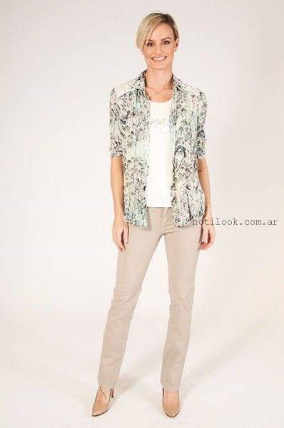 camisas para mujer verano 2016 Mirta Armesto