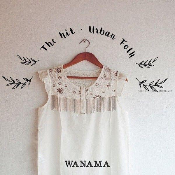 camisolas verano 2016 wanama