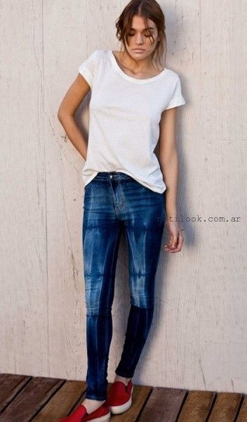 jeans chupin verano 2016 Pura Pampa