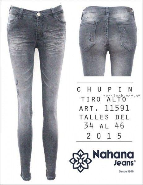 jeans chupin verano 2016 nahana