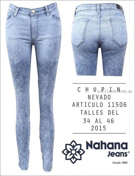 jeans nevado verano 2016 nahana