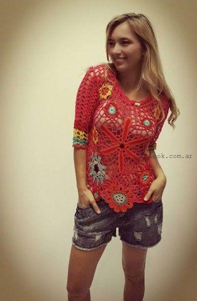 remeras tejidas verano 2016 vars