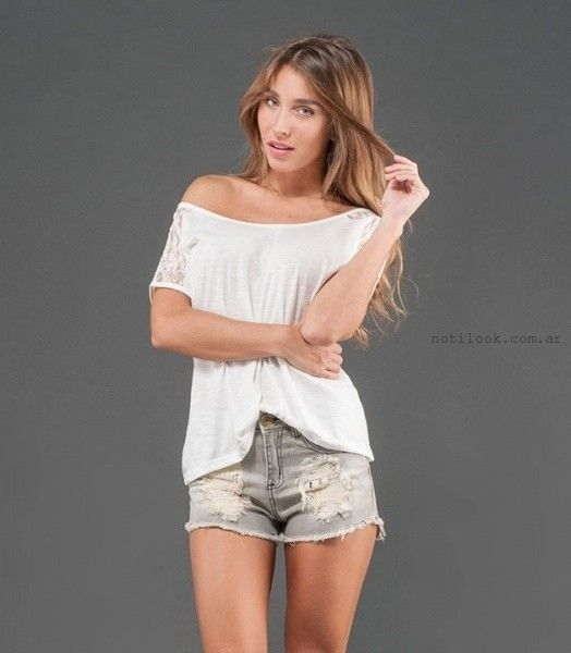 shores de jeans rotos verano 2016 alma jeans