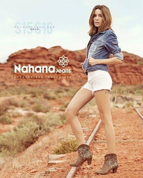 short jeans verano 2016 nahana