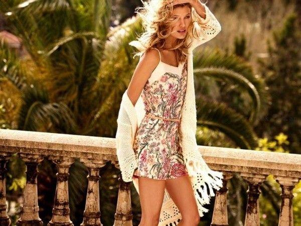 vestidos cortos de dia verano  2016 Cuesta blanca