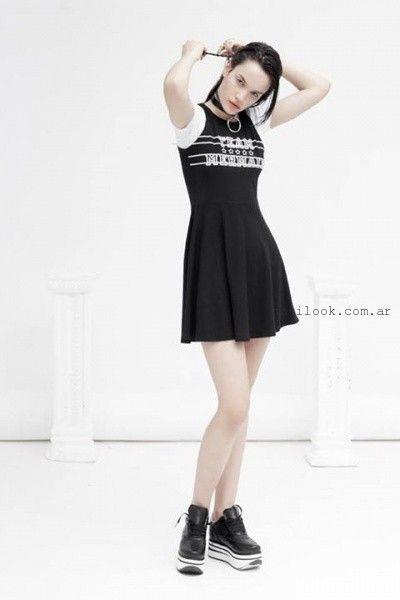 vestidos cortos informales verano 2016 Yosy Lovers