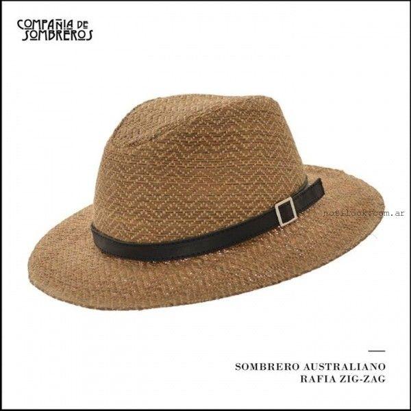 Compañia de Sombreros de rafia verano 2016