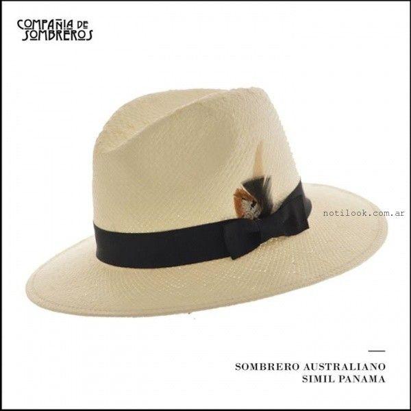 Compañia de Sombreros estilo australiano verano 2016  796f13ede2a
