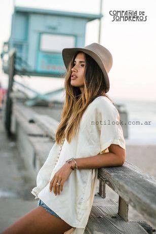 Sombreros de moda para el verano 2016 – Compañia de sombreros ... c971c96af10