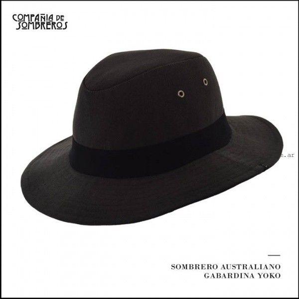 Compañia de Sombreros australiano de gabardina verano 2016