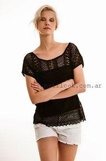 blusas con guipur  Zulas verano 2016