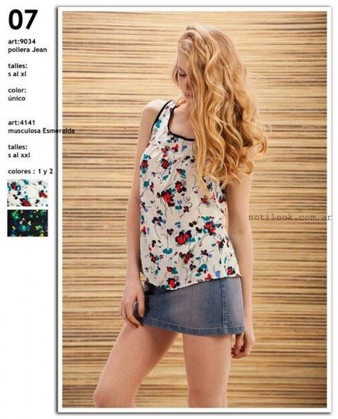 blusas estampadas  Okoche verano 2016