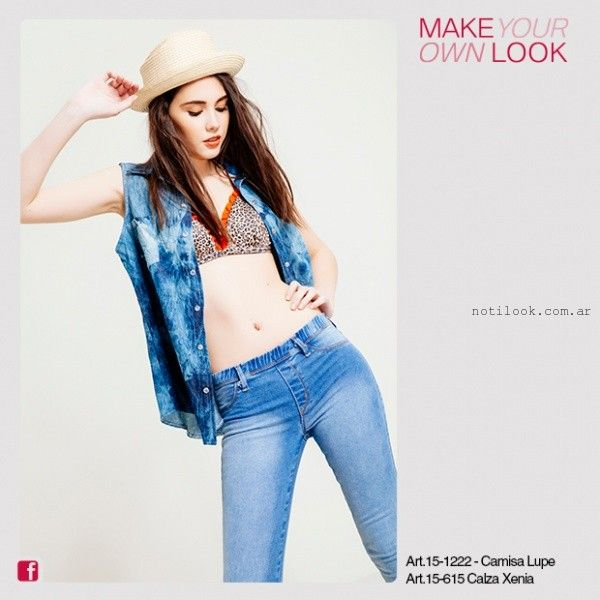 camisa denim batik verano 2016 de Kodo Jeans