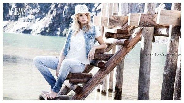 chaleco de jeans verano 2016 af jeans