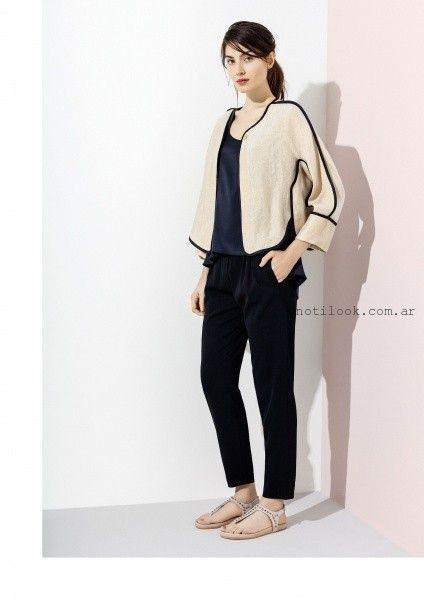 chaqueta de lino verano 2016 graciela naum