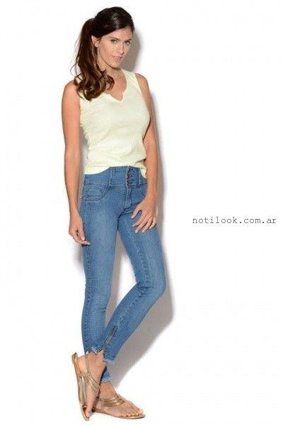 jeans tiro alto Viga Jeans verano 2016