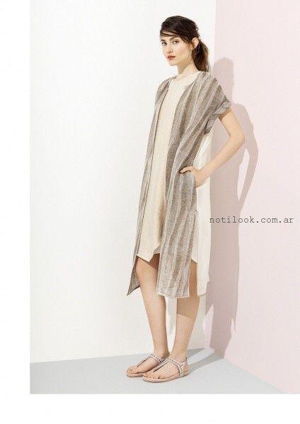 kimono de lino verano 2016 graciela naum
