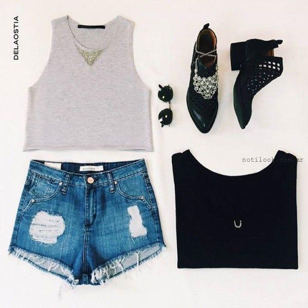 look con short Delaostia verano 2016