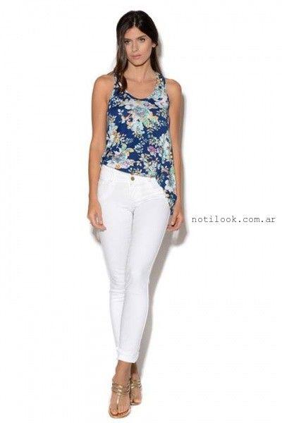 pantalones blancos Viga Jeans verano 2016