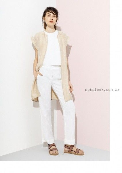 pantalones de lino verano 2016 graciela naum