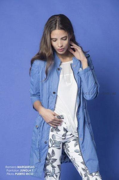 pantalones estampados Teresa Calandra verano 2016