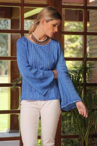 sweater de hilo  Arauz verano 2016