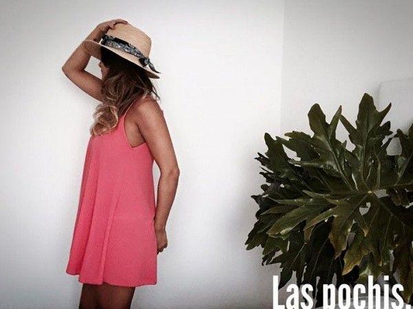 vestidos cortos holgados juveniles verano 2016 Las Pochis