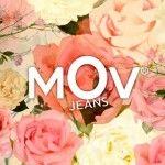 MOV jeans logo