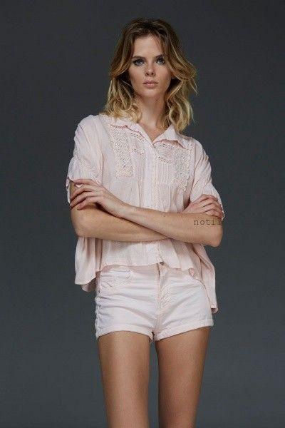 camisa con ountilla verano 2016 Nare