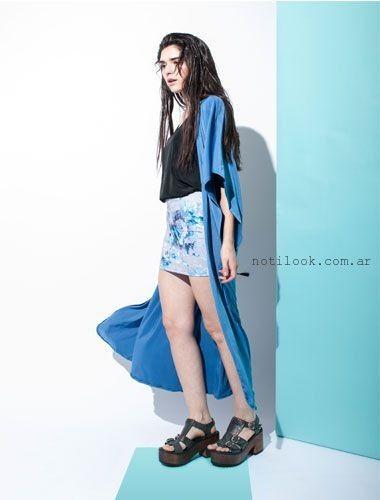 kimono largo Clan Issime verano 2016