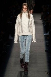 sweater largos tejidos con detalles de tachas 2016 Estilo  Sporty  Pun