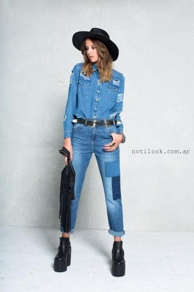 47 Street - moda jeans invierno 2016