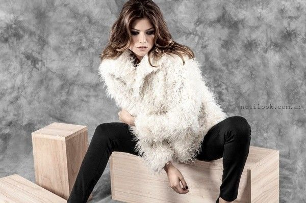 abrigos de piel sintetica Activity invierno 2016