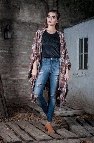 jeans rotos Desvió jeas invierno 2016