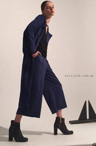 pantalon capri ancho invierno 2016 DESIDERATA