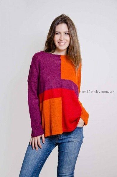 sweater tejidos coloridos lares otoño invierno 2016
