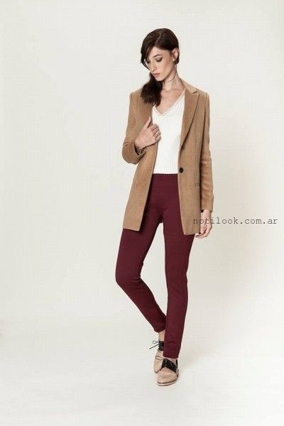 Saco de mujer largo entallado invierno 2016 - Asterisco