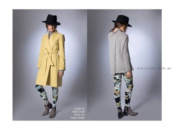 abrigos para mujer la cofradia invierno 2016