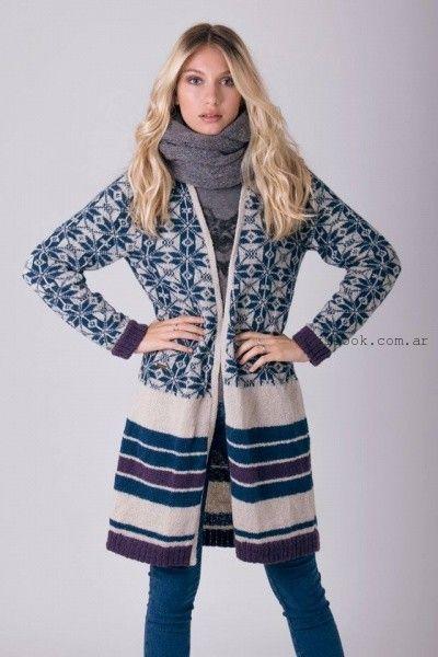 abrigos tejidos enriquiana otoño invierno 2016